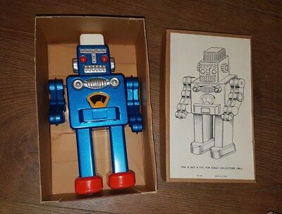 RARE VINTAGE 99P START Clockwork Robot MS360 - Boxed - Made In China TESTED ONCE