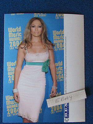 "Original Press Photo - 8""x6"" - Jennifer Lopez - 2004 - A1"