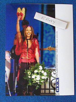 "Original Press Photo - 8""x6"" - Jennifer Lopez - 2001 - E"