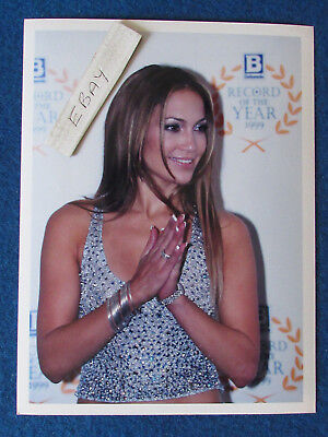 "Original Press Photo - 8""x6"" - Jennifer Lopez - 1999 - B"