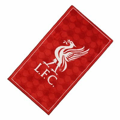 Liverpool FC LFC Red White Liverbird Bedroom Rug BNWT NEW 67 x 120 cm Official