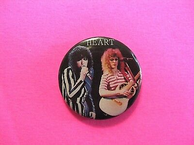 Heart Vintage Button Pin Badge Not Shirt Patch Lp Cd Us Made