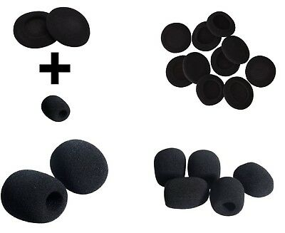 Headphone Foam Covers Pads Replacement  Microphone Headset Earpads Sony Philips
