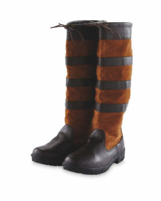 Brand New * Crane Equestrian * Ladies Country Boots * Brown *