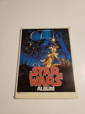 Star Wars Album~ 1977 ~ First Edition~ Collector's Edition~ Ballantine