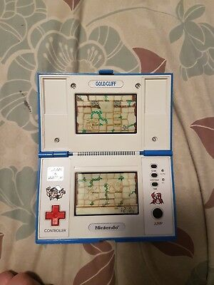 Nintendo Game And Watch Gold Cliff      Excellent Condition