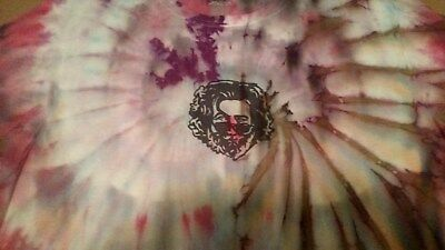 Grateful Dead Jerry Garcia Tie Dye T- Shirt New, size Large