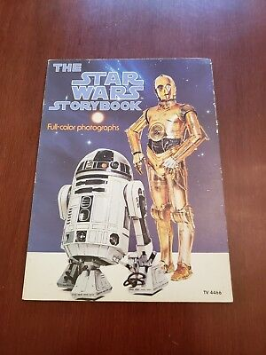 Vintage The STAR WARS STORYBOOK 1978 Paperback Book