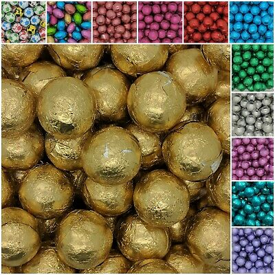 Chocolate Foil BALLS Wrapped Wedding Christmas Party Table Favours
