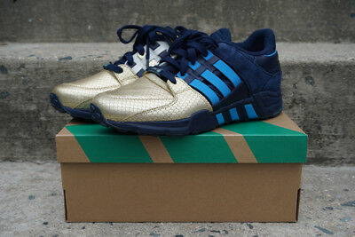 official photos 93b50 6e978 Ronnie Fieg KITH Adidas EQT Support 93 NYCs Bravest B26274 Gold Toe Size  8.5