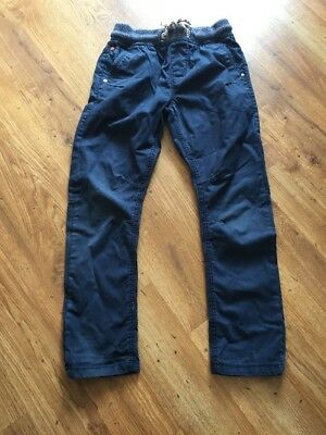 Next Boys Navy Trousers Age 8 Years