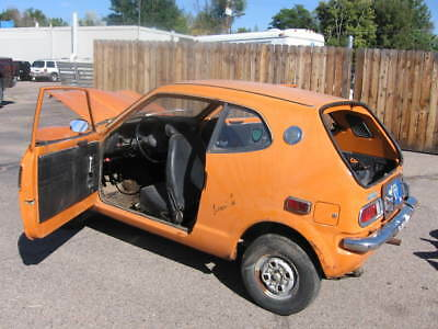 1972 Honda 600  1972 Honda AZ600 2 Door Hatchback Front Wheel Drive Coupe