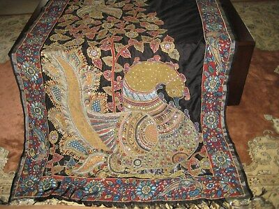 Heavy Work Designer Kalamkari Saree