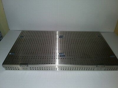 Miltex Veterinary Autoclave Cassette 3-6815 perf stainless steel
