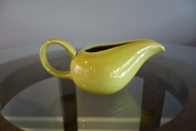 Russel Wright American Mordern Creamer in Chartreuse