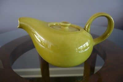 Russel Wright American Modern Teapot in Chartreuse