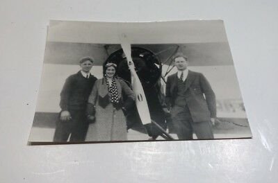 Vintage Photograph Harriet Quimby 1st Female Licensed Pilot In USA 2nd In World