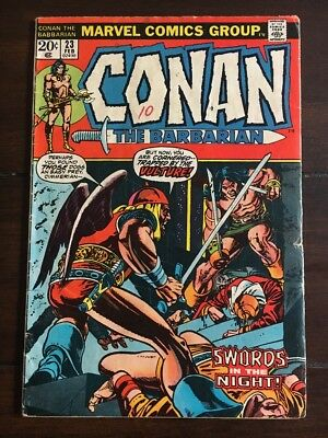 CONAN THE BARBARIAN #23 MARVEL 1973 1ST APP. RED SONJA Movie Soon