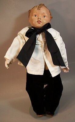 Lovely Large Antique c. 1910 Boy Doll--Effanbee mold 108