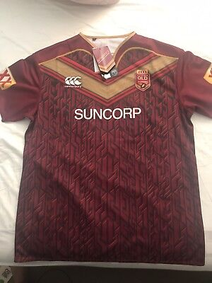 Queensland Maroons State of Origin 2017 On Field Jersey Adults