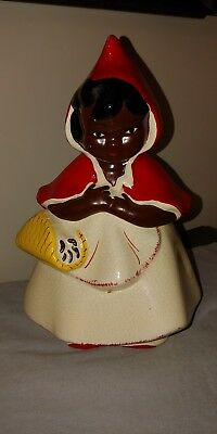 Black Americana, Little Red Riding Hood Cookie Jar