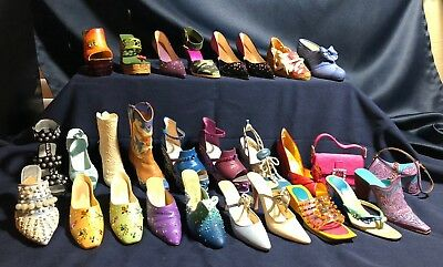 ⭐Just The Right Shoe⭐ Lot Of 26 Shoes & 2 Purse