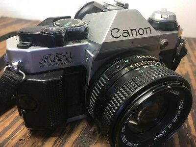Canon AE-1 35mm Film Camera