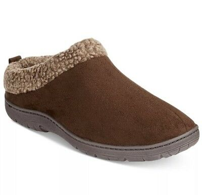 $96 32 DEGREES WEATHERPROOF HEAT Men BROWN THINSULATE CLOGS SLIPPERS SHOES 9.5 L