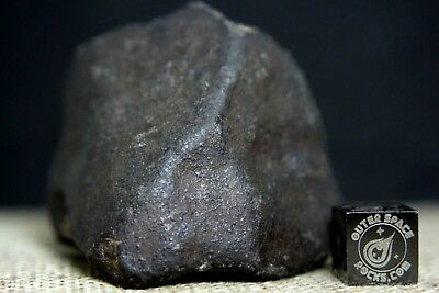 NWA Unclassified Meteorite Individual 77.6 grams with orientation & fusion crust
