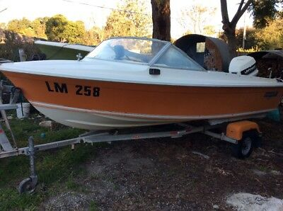 Haines hunter 146R boat