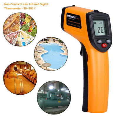 Temperature Gun Non-contact Laser Infrared IR Digital Thermometer  FDA Approved