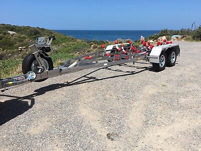 New Stainless Steel Boat Trailer