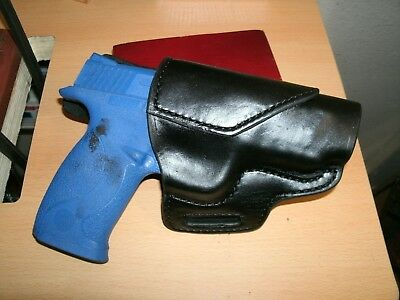 Leather Avenger OWB HOLSTER for Ruger P89 Rustic Chocolate Brown Made in USA