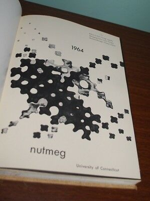 University Of Connecticut 1964 Uconn  Nutmeg Yearbook