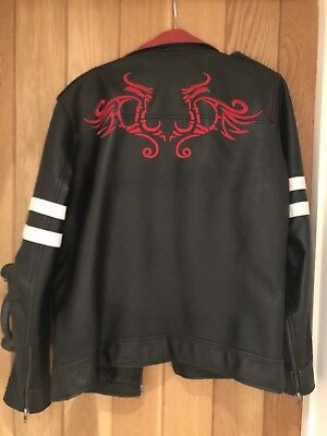 Man's Bomber Jacket. Size 38 Chest.Perfect forGrease, West Side Story, punk etc