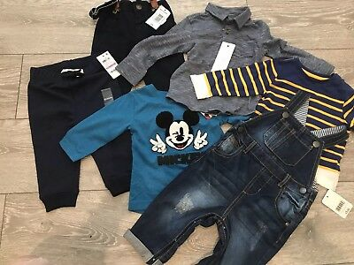 Baby Boy Bundle 6-9 Months BNWT Next Mothercare