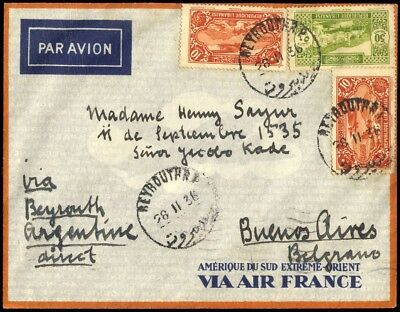 1935, Libanon, Hab 445, Brief