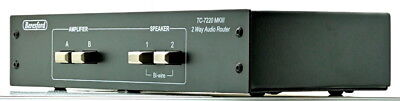 Beresford TC-7220 MKIII Dual Amplifier/Speaker Selector Switch Audio Router