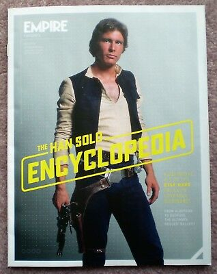 The Han Solo Encyclopedia magazine Empire Star Wars Carrie Fisher Harrison Ford