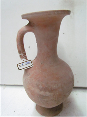 Late bronze age terra cotta jug,Time of Moses p3484