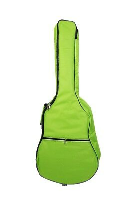 Lime Green Padded 39 inch Acoustic Guitar Bag Case fits 3/4 7/8 kids children's