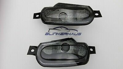 SMOKED Smart Fortwo Forfour 453 Brabus Utimate 125 ED EQ Front Indicators Lights
