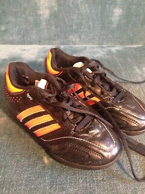 5ce2d385d ... good boys adidas 11 questra 11pro astro trainers boots uk size 11 black  orange 3141d 5495b