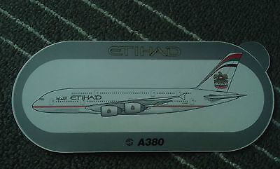 Airbus Etihad 380 Sticker