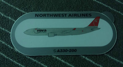 Airbus Northwest Airlines Sticker