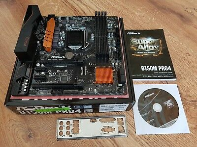 ASRock B150M PRO4 So.1151 Dual Channel DDR mATX Mainboard Motherboard