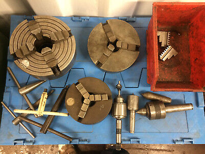 lathe chucks and misc tooling