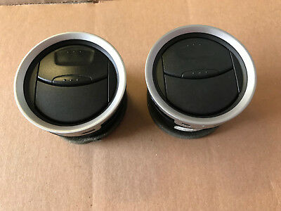 Ford Fiesta Mk6 Mk6.5 Air Vents X 2 From 2005 To 2008 Inc Zetec S St150 Vgc