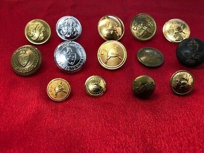 Fire Brigade Collectables - Fire Service Buttons, various services