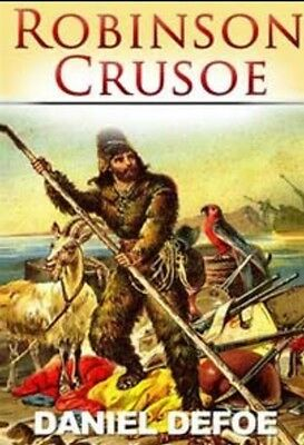 Robinson Crusoe Audio Book Daniel Defoe MP 3 Unabridged *DOWNLOAD*